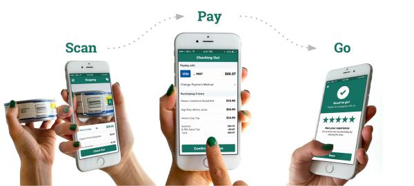 """Phần mềm bán hàng siêu thị với công nghệ """"Scan pay go"""""""