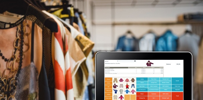 Phần mềm bán hàng thời trang quản lý tình trạng sẵn có của hàng hóa